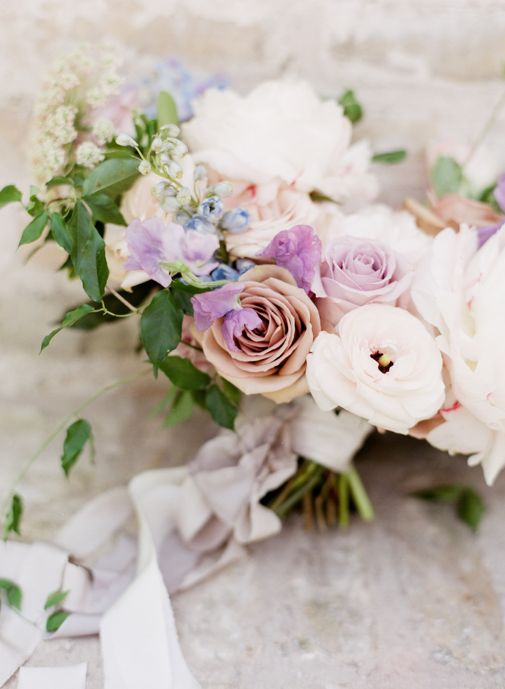 Pastel Wedding Bouquet - Winnipeg Wedding Florist