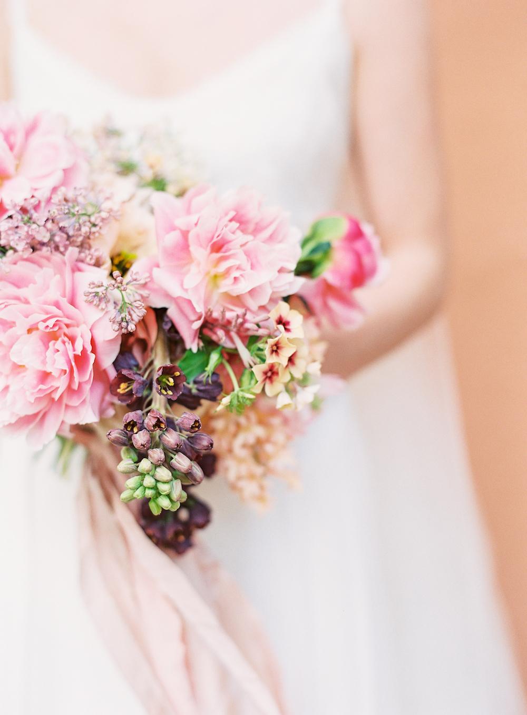 Spring Bridal Bouquet - Wedding Florist Winnipeg