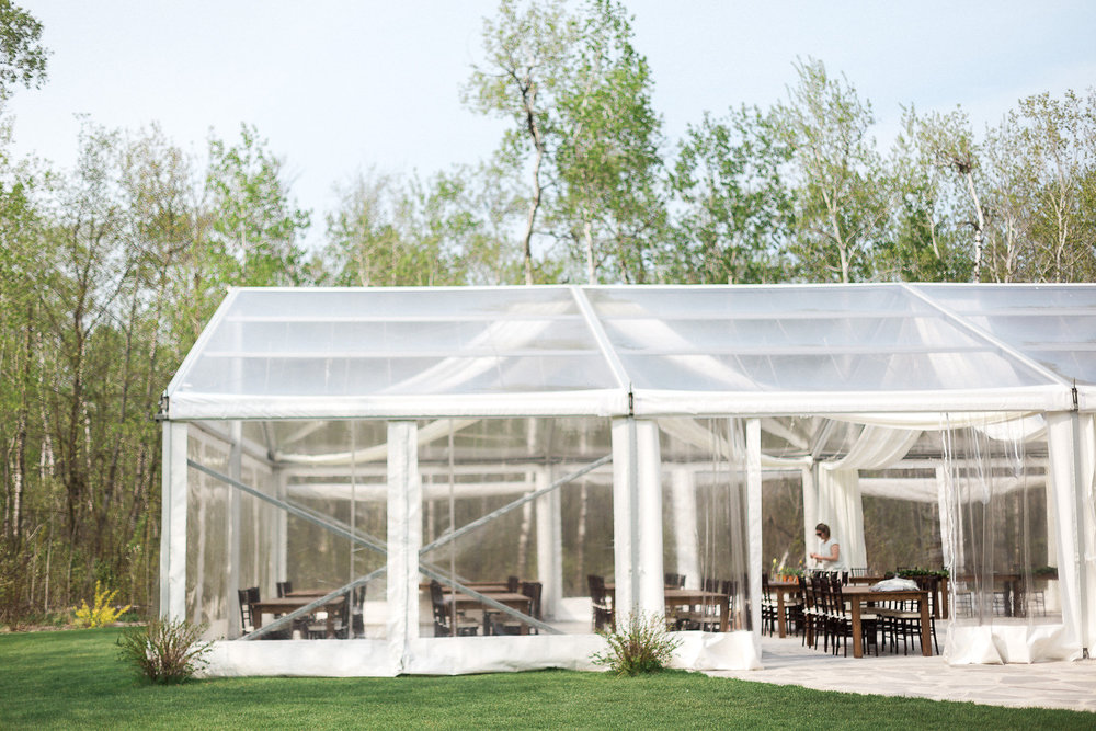 Blue And Yellow Wedding Decor Ideas At Cielos Garden Winnipeg