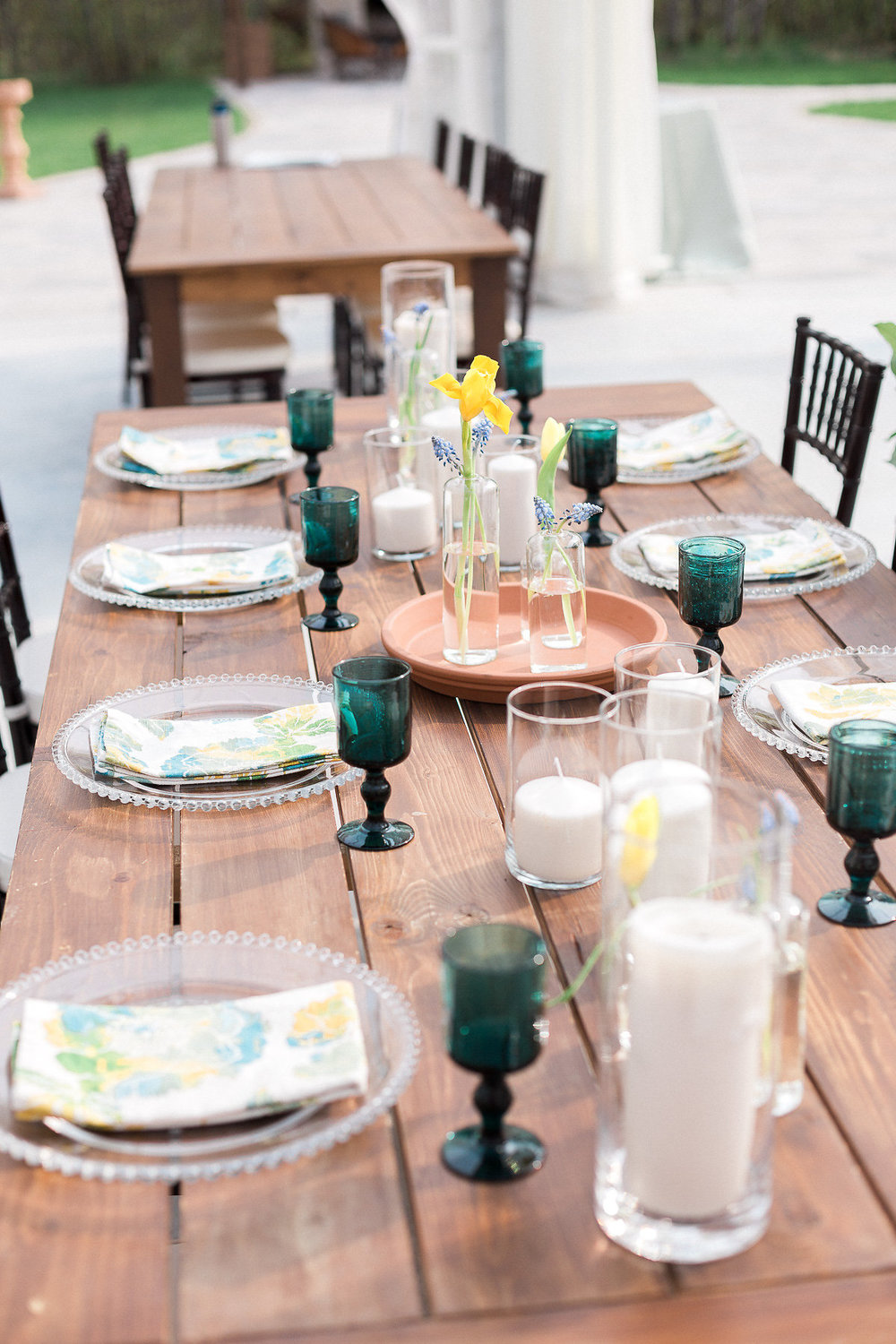 Ideas for Long Tables at Wedding - Winnipeg Weddings