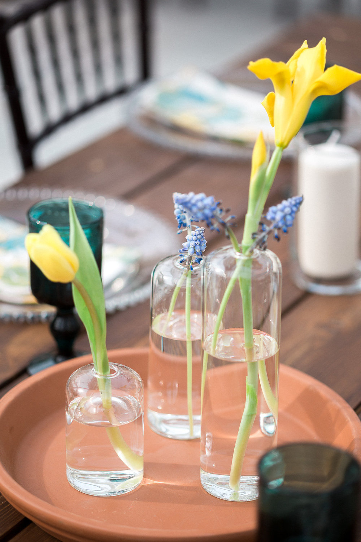 Blue Wedding Flowers - Winnipeg Wedding Flowers