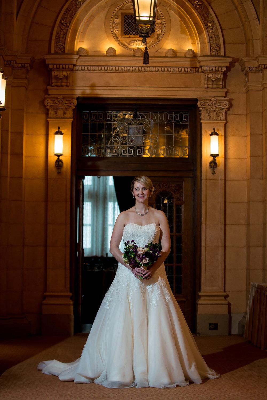 Purple Bridal Bouquet - Wedding Florist in Winnipeg