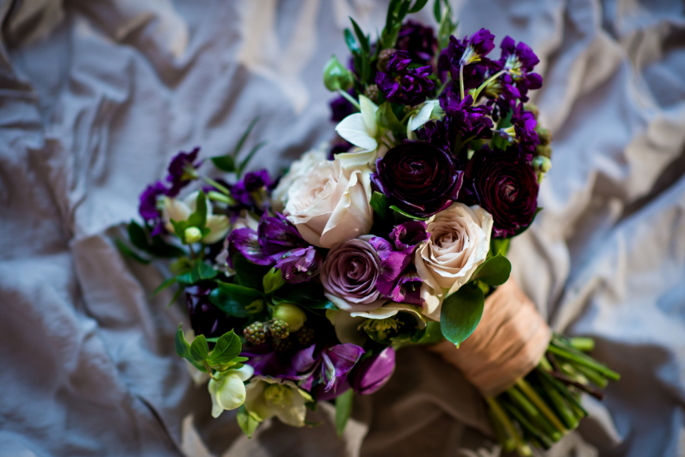 Wedding Florist In Winnipeg - Organic Bridal Bouquet