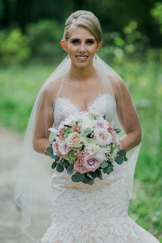 blush wedding flowers - wedding florist in winnipeg