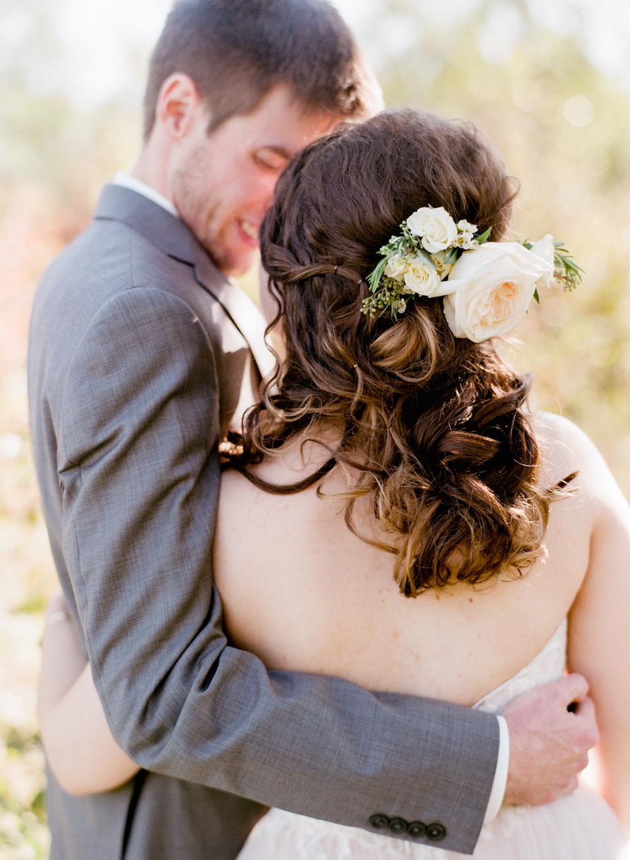 wedding hair flowers - wedding florist in winnipeg