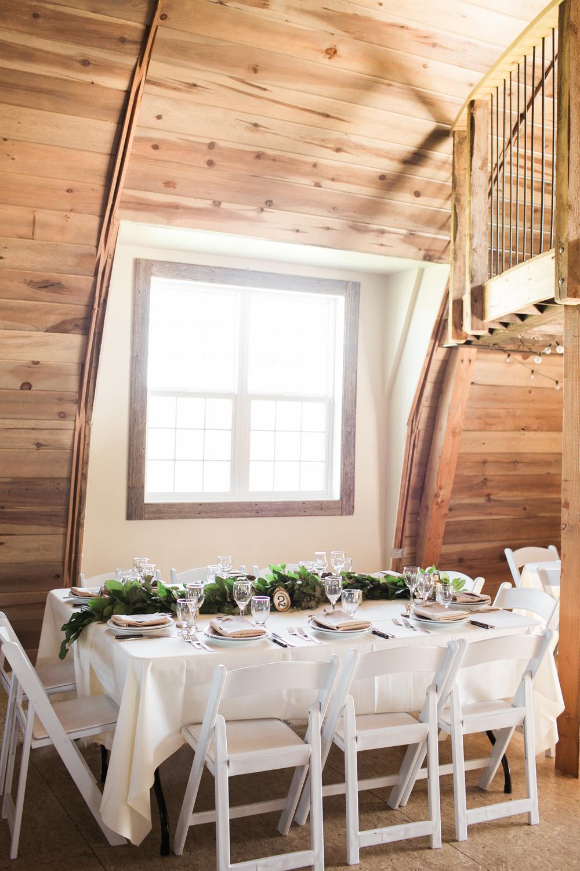 garland centrepiece - wedding florist in winnipeg