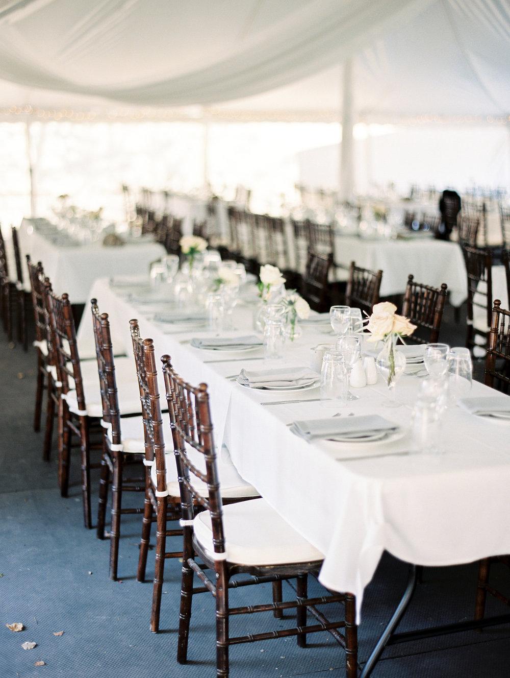 Tent Wedding Decor Ideas - Winnipeg Wedding flowers