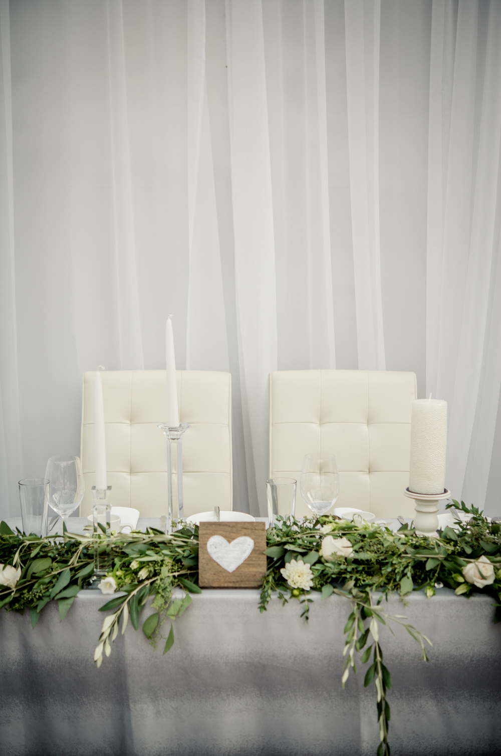 White Wedding Flowers - Stone House Creative