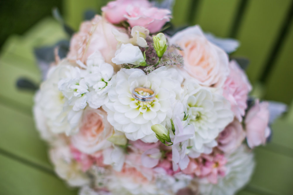 Summer Wedding Bouquet - Stone House Creative