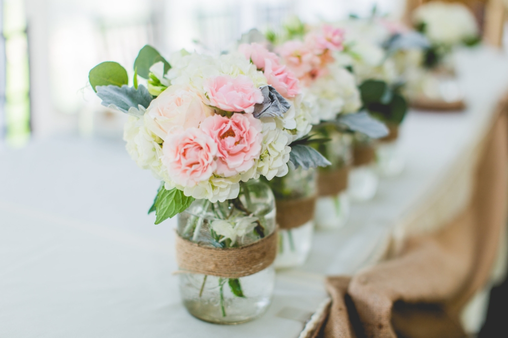 Country Wedding Flowers - Rustic Wedding Ideas