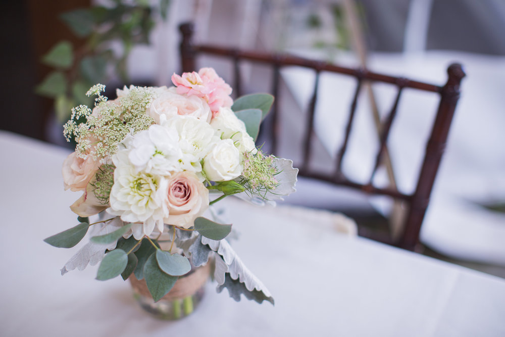 Blush and White Wedding Flowers - Winnipeg Wedding Flowers