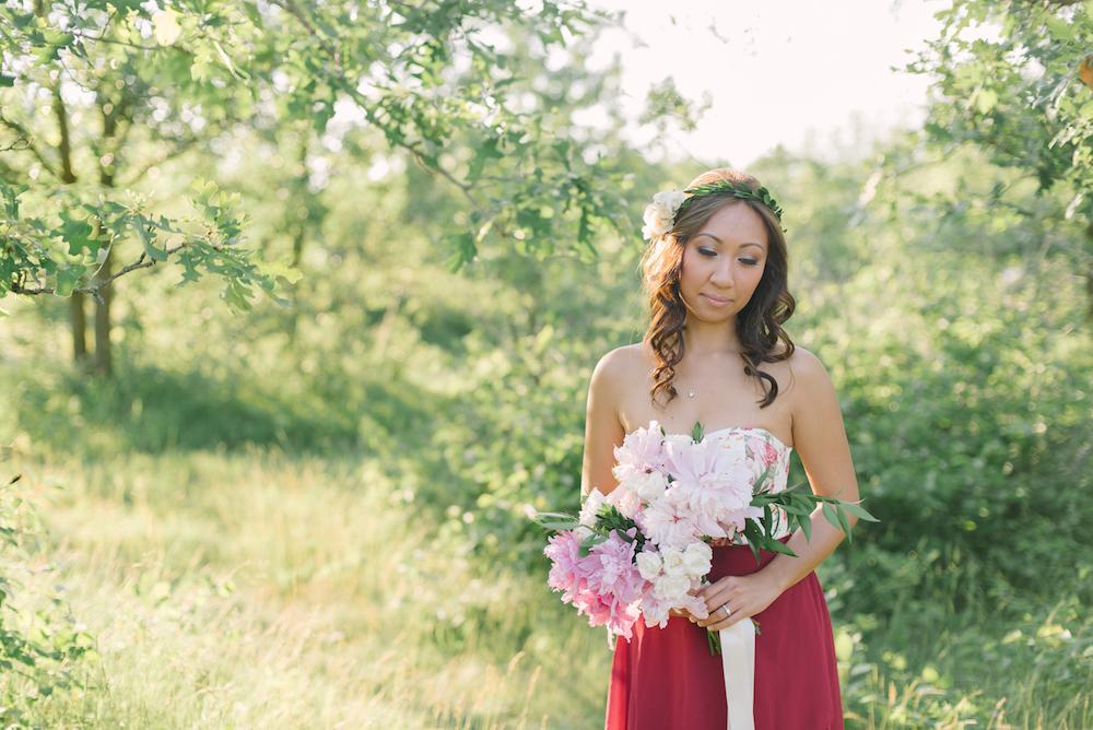 Peony Wedding Bouquet - Blush Wedding Ideas
