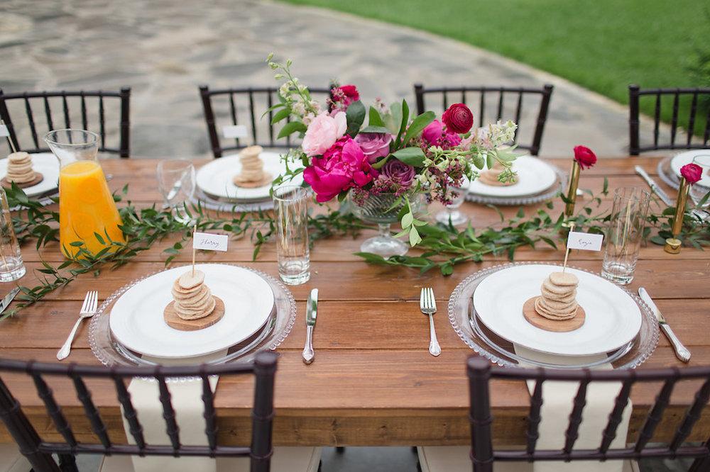 Brunch Wedding Inspiration - Stone House Creative