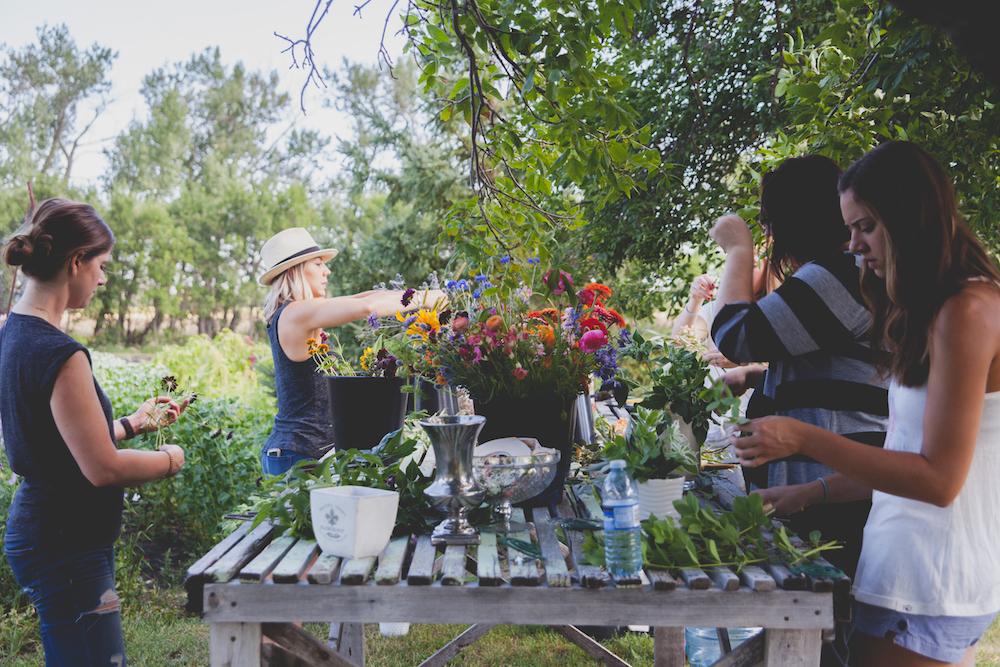 Winnipeg Wedding Florists - Flower Friend Day
