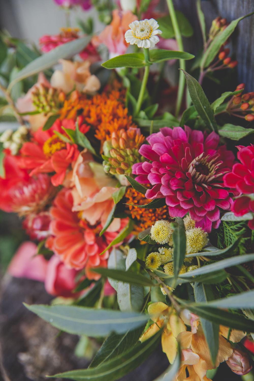 Colourful Wedding Flowers - Summer Wedding Flowers