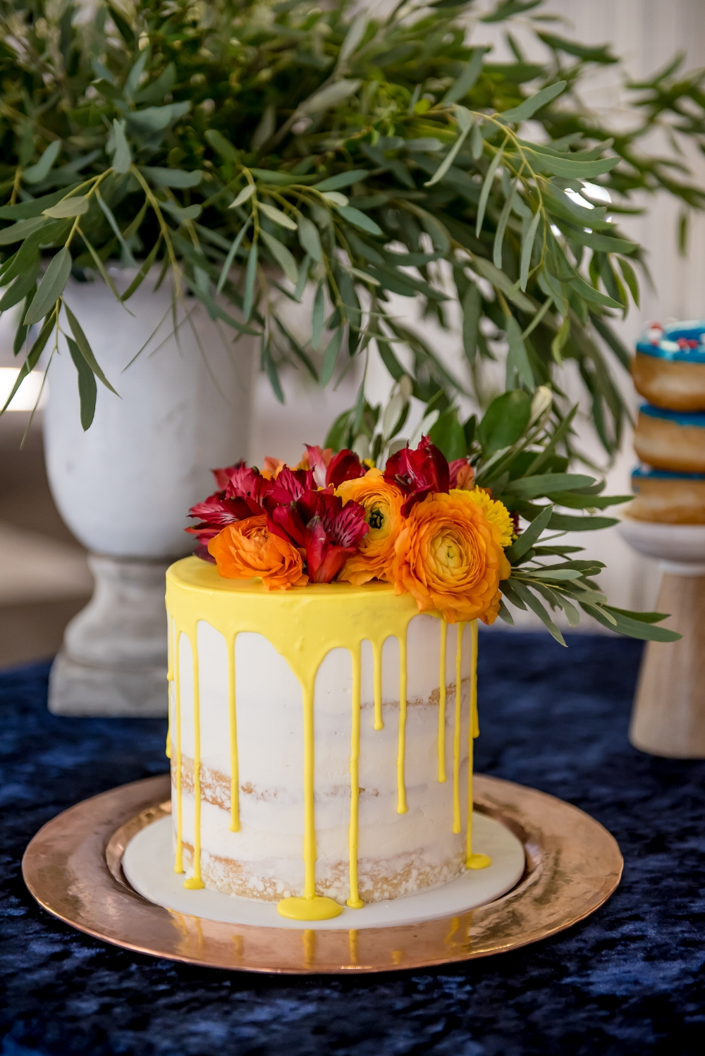 Photo by Gabrielle Touchette Photography, cake by Laugh Love Cakes, planning by Feast & Festivities.