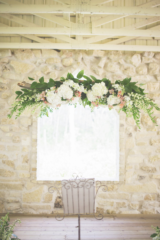 Hanging Wedding Flower Ideas - Cielo's Garden Wedding