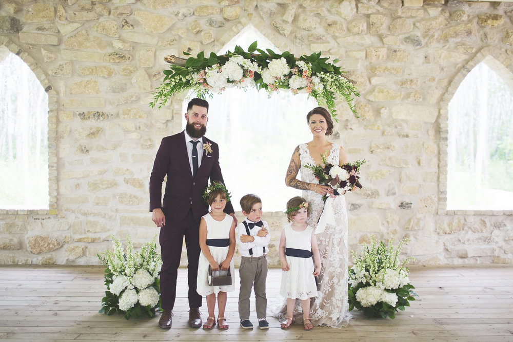 Garden Wedding Flowers - Stone House Creative