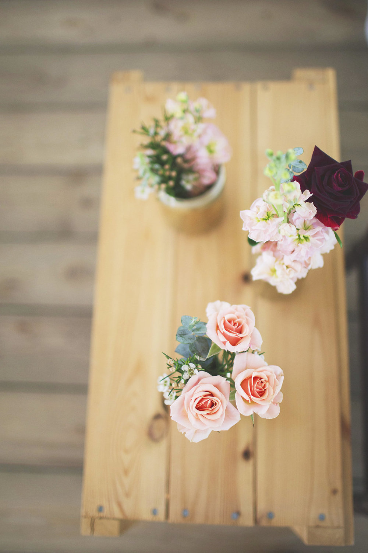 Peach Wedding Flowers - Winnipeg Wedding Florist