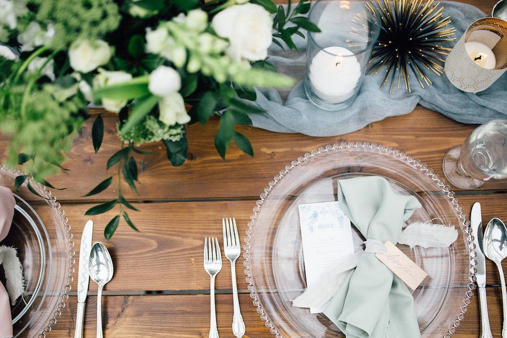 Elegant Blue Wedding Ideas - Winnipeg Wedding Florist