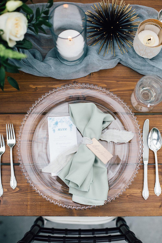 Light Blue Wedding Decor - Winnipeg Wedding Planning
