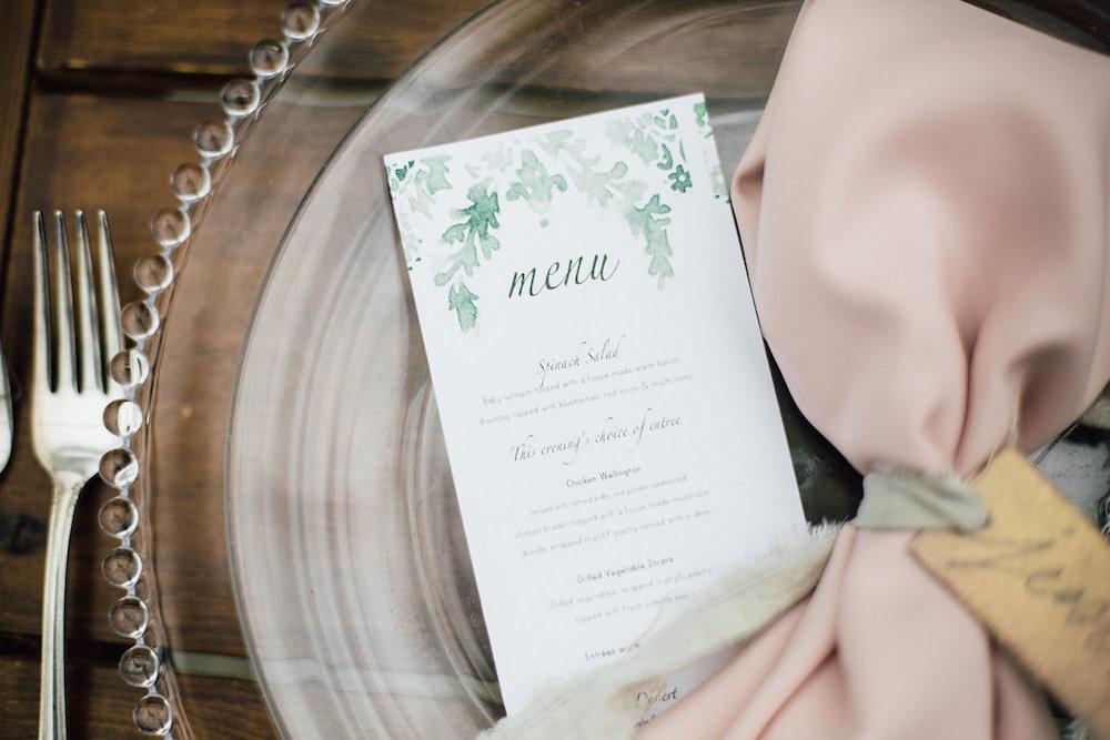 Handpainted Wedding Stationery - Wedding planning in Winnipeg