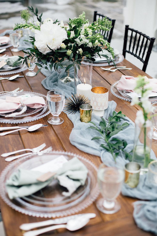 Elegant Garden Wedding Ideas - Stone House Creative