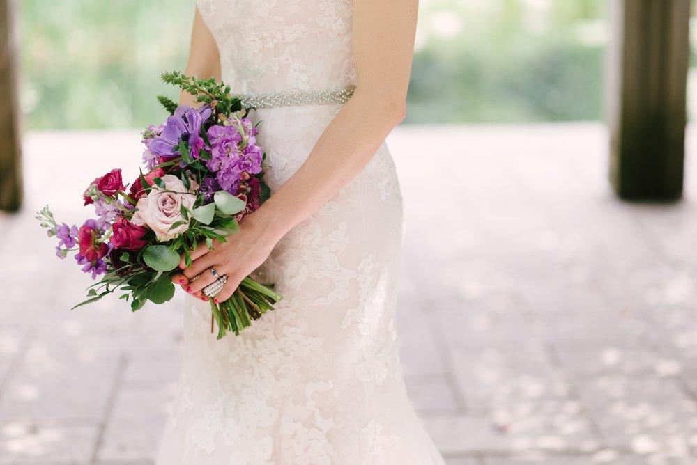 Purple and Pink Wedding Flowers - Wedding Flowers Winnipeg