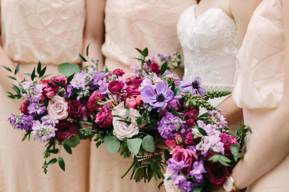 Berry Tone Wedding Ideas - Stone House Creative
