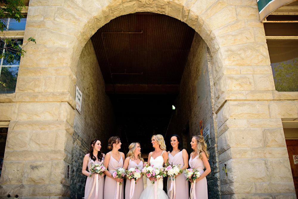 Blush Wedding Flowers - Wedding Flowers Winnipeg