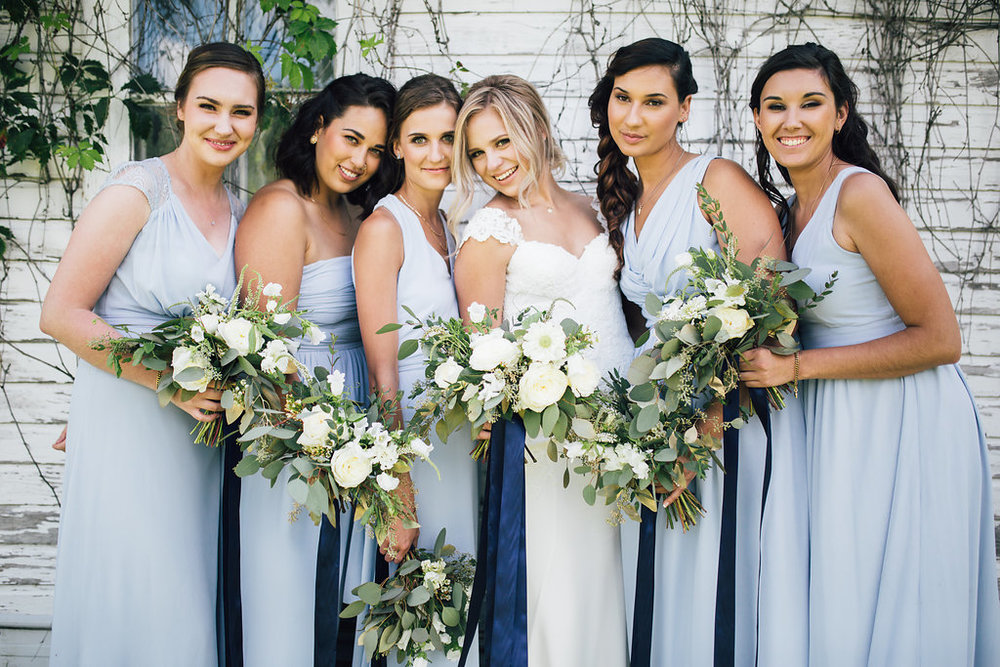 Light Blue Bridesmaid Dress Ideas - Weddings in Winnipeg