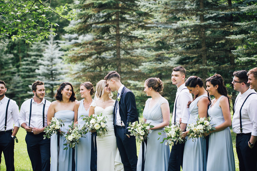 Blue and White Wedding Ideas - Winnipeg Wedding Florist