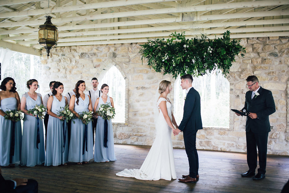 Hanging Greenery Wedding Decor - Wedding Florist in Winnipeg