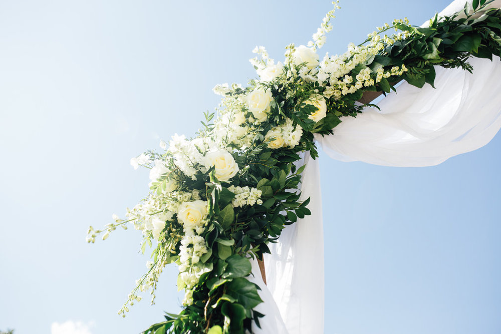Wedding Ceremony Arbor Flowers - Winnipeg Florist