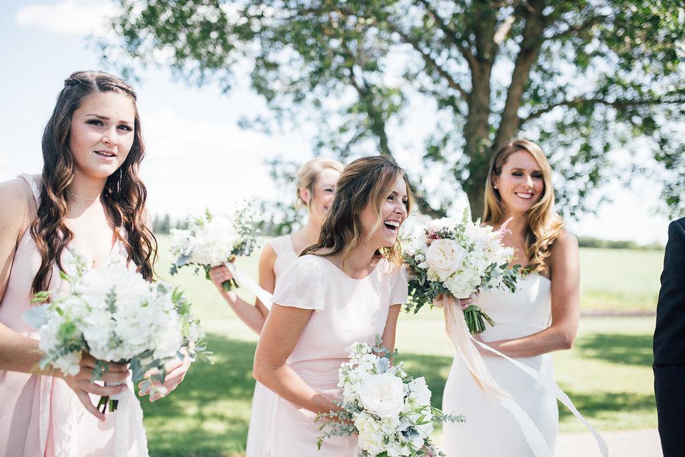 Organic Bridal Bouquets - Wedding Florist in Winnipeg
