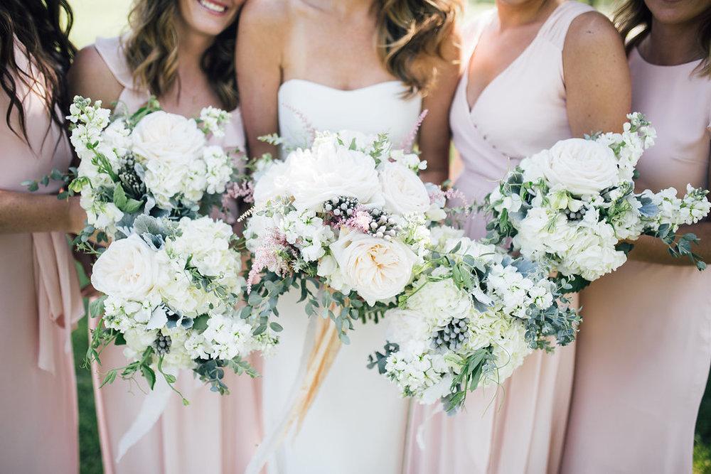 Garden Rose Wedding Bouquets - Wedding Florists Winnipeg