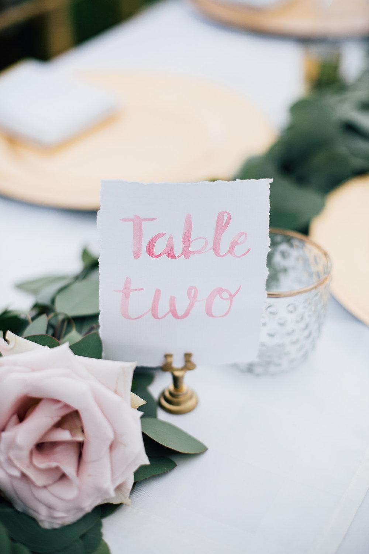 Wedding Table Number Ideas - Winnipeg Weddings