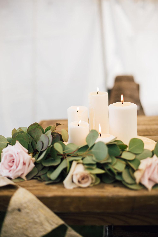 Candle Wedding Decor - Wedding Flowers Winnipeg