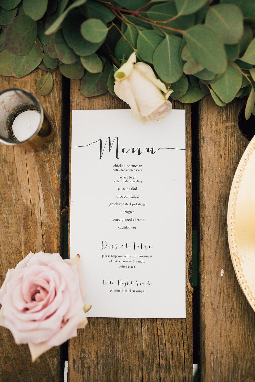Organic Wedding Decor - Wedding Florists Winnipeg