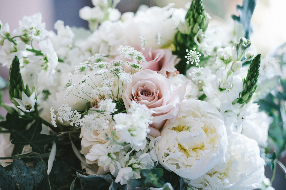 Quicksand Rose Wedding Bouquet - Wedding Florist in Winnipeg