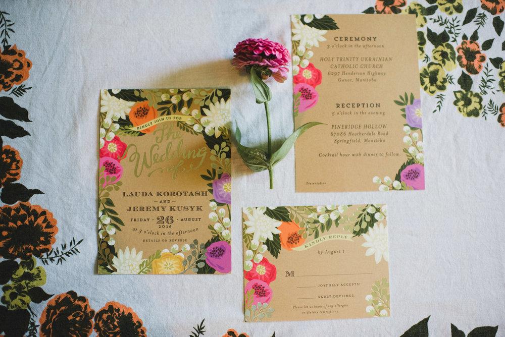 Colourful Summer Wedding - Pineridge Hollow Wedding