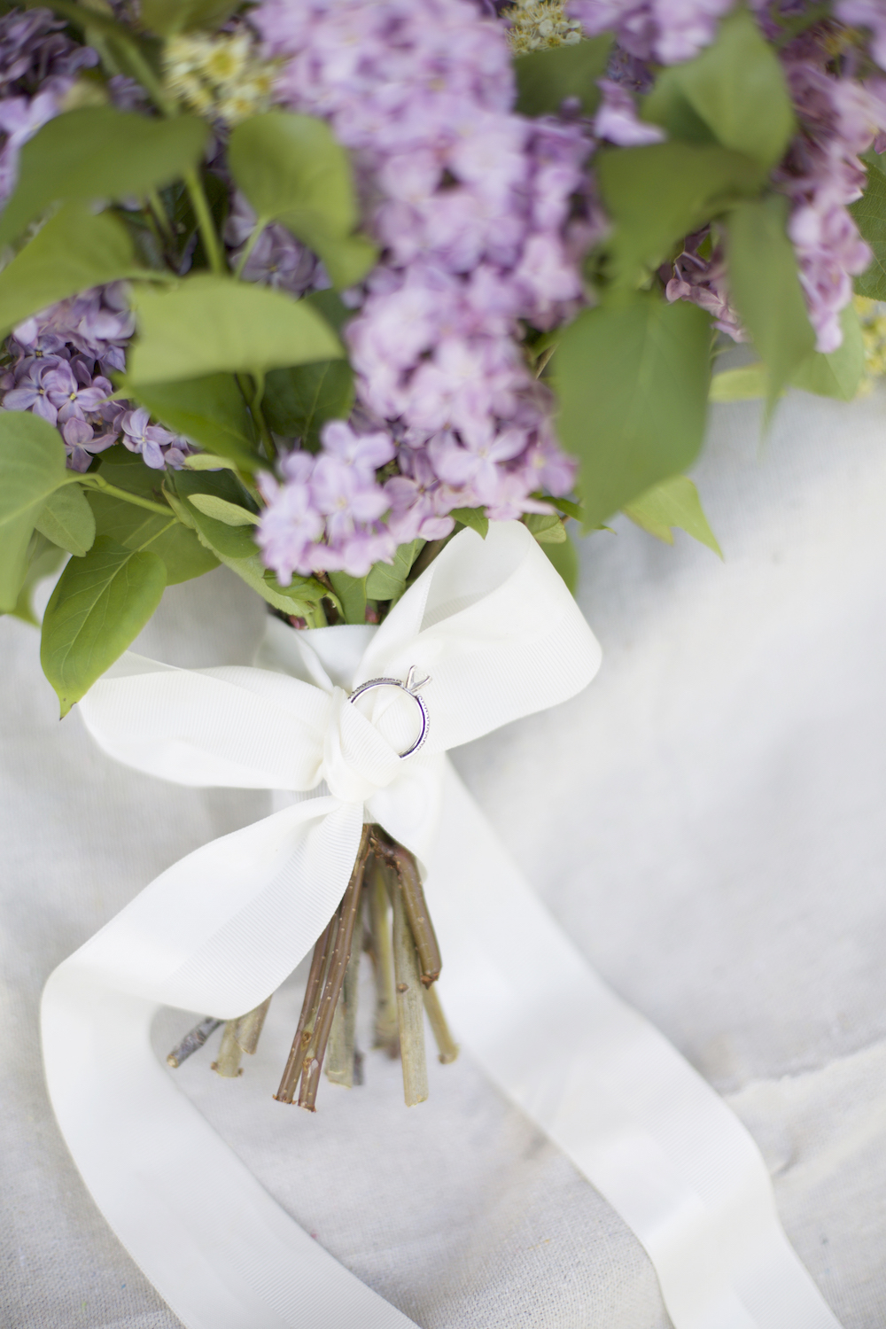 Lilac Wedding Bouquet - Wedding Florist in Winnipeg