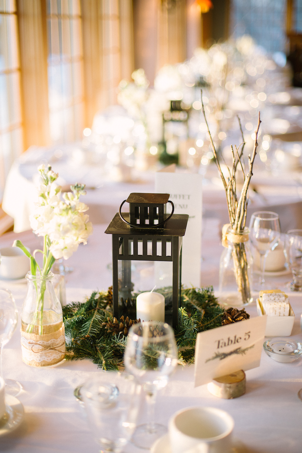 Winter Wedding Decor - Winter Weddings in Winnipeg