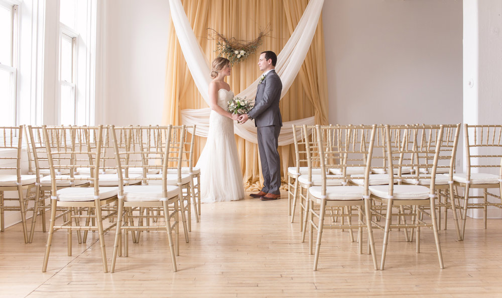 Indoor Wedding Ceremony Decor - Winnipeg Weddings