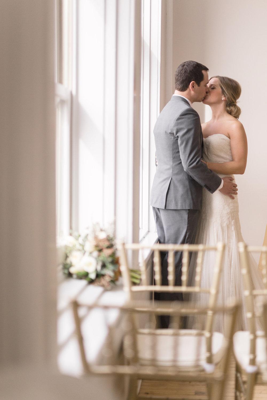 Warehouse Wedding Ceremony Winnipeg - Stone House Creative