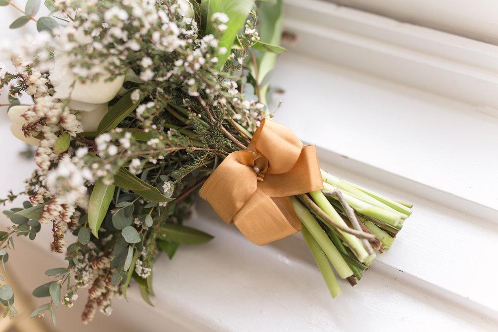 Gold Wedding Inspiration - Wedding Florist in Winnipeg