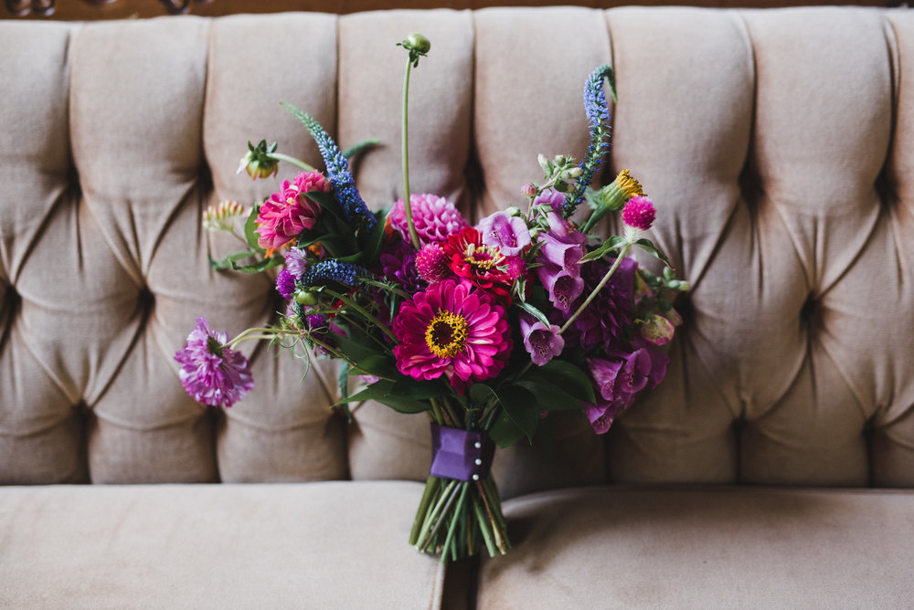 Foxglove Bridal Bouquet - Winnipeg Weddings