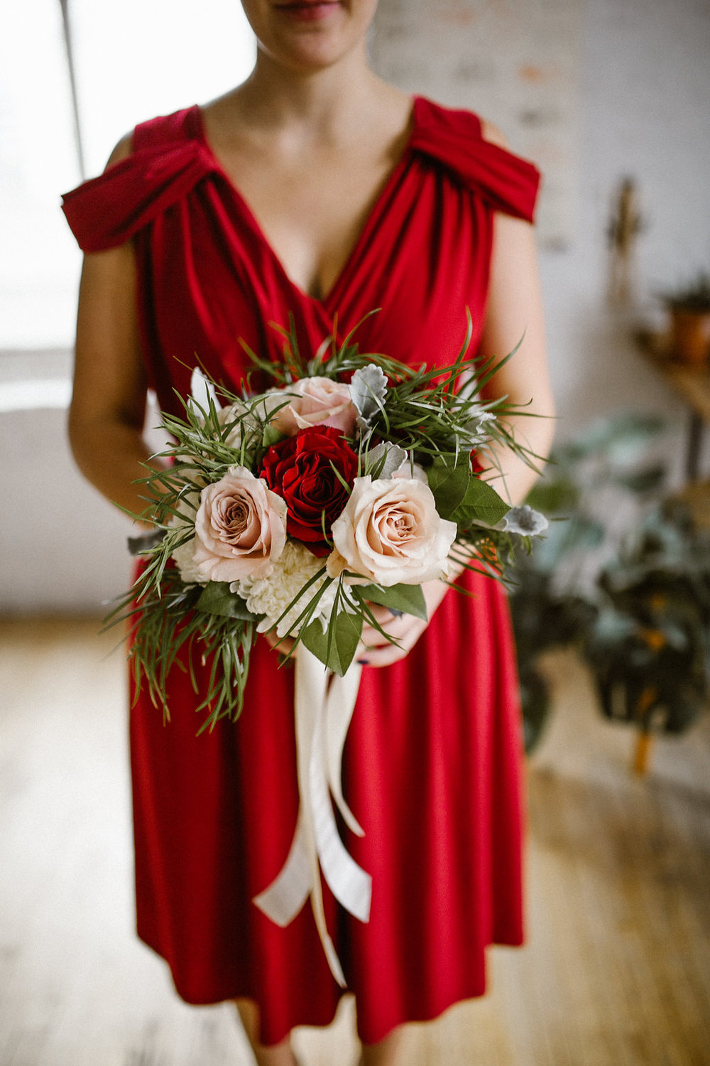 Burgundy Bridesmaid Dress - Burgundy Wedding Ideas