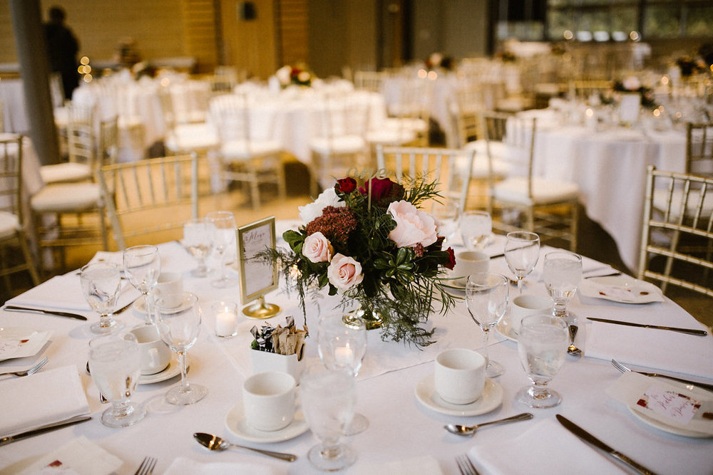 Marsala Fall Wedding Flowers - Winnipeg Wedding Florists