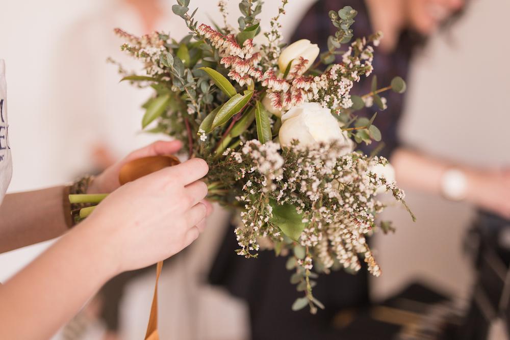 Textured Bridal Bouquet - Wedding Florist in Winnipeg